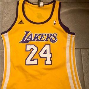 NBA 4her Adidas Laker Jersey 💛💜